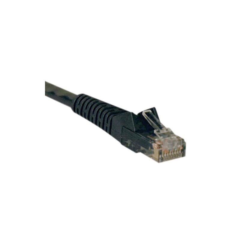 Black CMR-Rated PVC TRIPP LITE Cat5//5e Bulk Solid-Core Cable 350 MHz 1000 N022-01K-BK