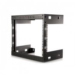 StarTech.com 8U Open Frame Wall Mount Equipment Rack - 12in Deep