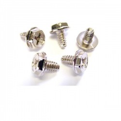 StarTech.com Replacement PC Mounting Screws 6-32 x 1/4in Long Standoff - 50 Pack