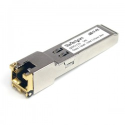 StarTech.com Cisco Compatible Gigabit RJ45 Copper SFP Transceiver Module - Mini-GBIC with Digital Diagnostics Monitoring