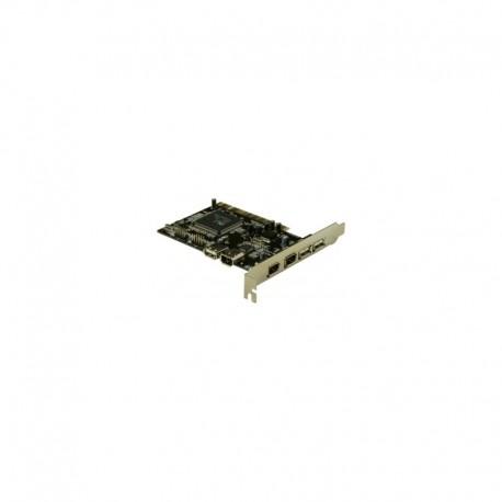 DeLOCK USB2.0 + FireWire PCI Card, 4+2 Port