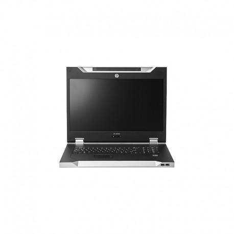 Hewlett Packard Enterprise LCD8500 1U UK Rackmount Console Kit