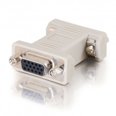 CablesToGo HD15 F/F VGA Gender Changer (Coupler)