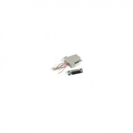 CablesToGo RJ45/DB15F Modular Adapter