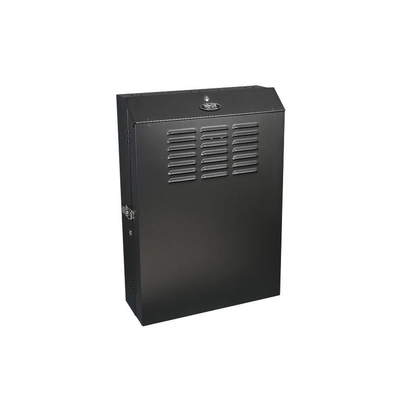 Tripp Lite 5U SmartRack Low Profile Wall Mount Rack Enclosure Cabinet Vertical Loading Zoom