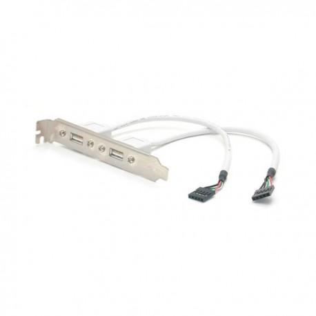 StarTech.com 2-Outlet USB Plate