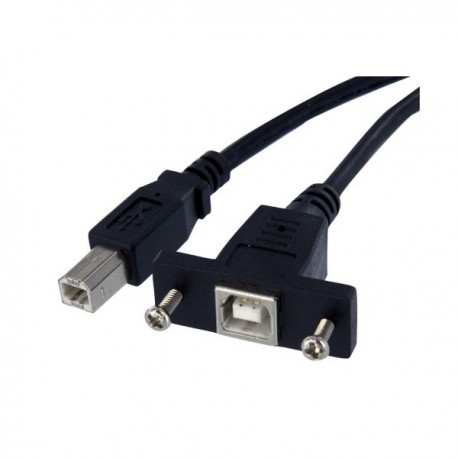 StarTech.com USB 2.0 Panel Mount Cable B/B