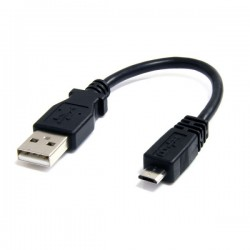 StarTech.com 6in Micro USB Cable - A to Micro B