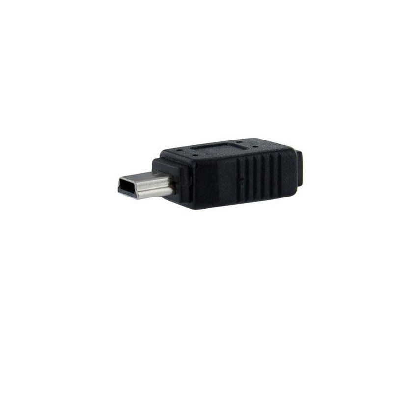 micro usb to mini usb 2 0 adapter f m cable interface gender adapters. Black Bedroom Furniture Sets. Home Design Ideas