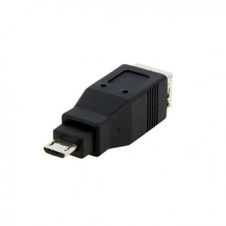 StarTech.com Micro USB to USB B Adapter - USB adapter - 5 pin Micro-USB Type B (M) - 4 pin USB Type B (F) - black