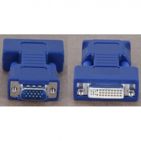 Avocent Female DVI-I - Male HD15 VGA video adapter