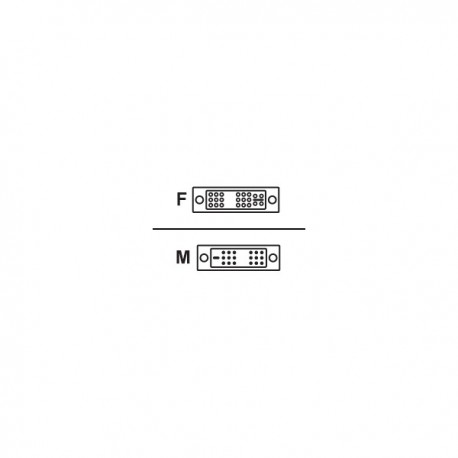 Avocent DVI-I - DVI-D Adapter