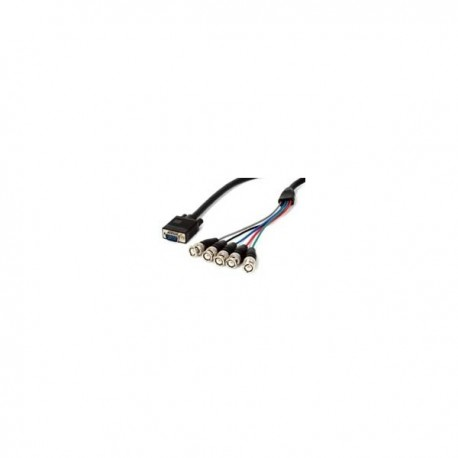 StarTech.com 6 ft. Coax SVGA Cable HDDB15M to 5 BNC Male