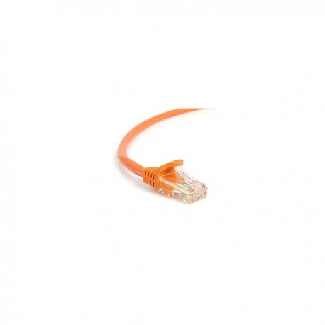 StarTech.com 3 ft Orange Snagless Cat5e (350 MHz) UTP Patch Cable