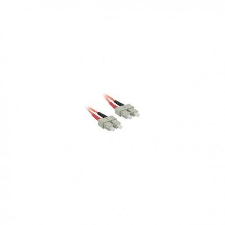 3m SC/SC LSZH Duplex 62.5/125 Multimode Fibre Patch Cable
