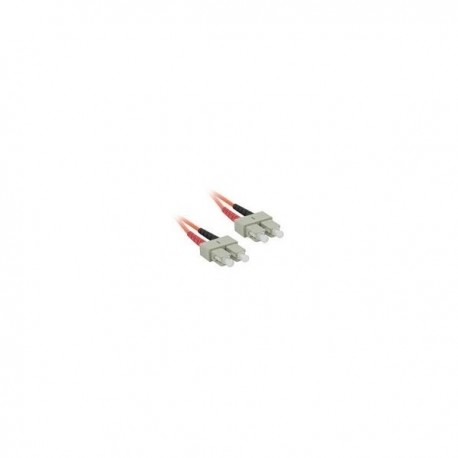 10m SC/SC LSZH Duplex 62.5/125 Multimode Fibre Patch Cable