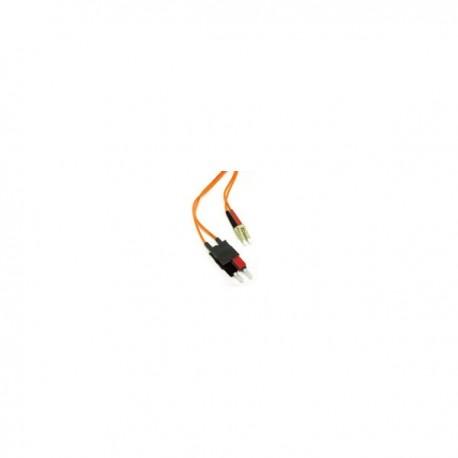 5m LC/SC LSZH Duplex 62.5/125 Multimode Fibre Patch Cable