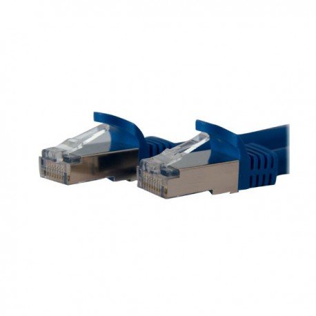 StarTech.com 14 ft Blue Shielded Cat6a Molded STP Patch Cable