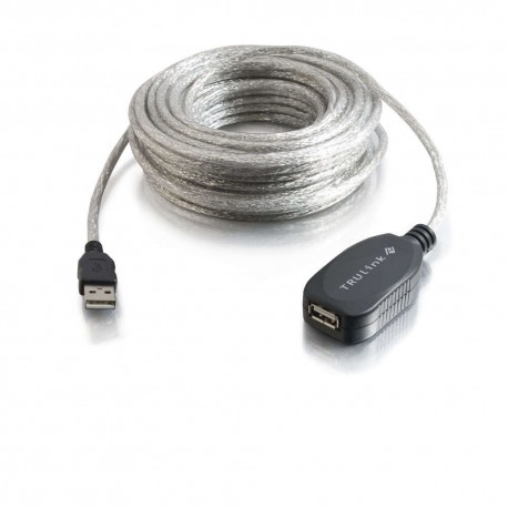 CablesToGo 12m USB 2.0 A/A Active Extension Cable