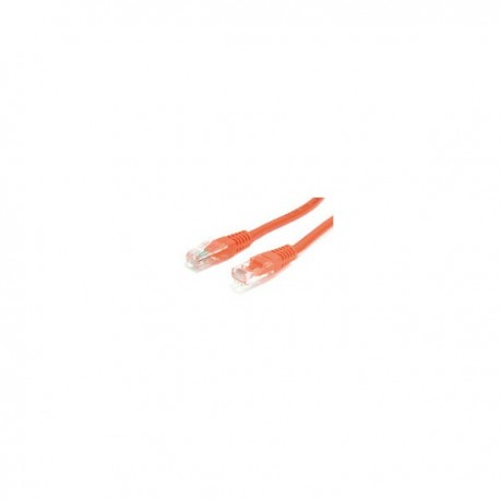 StarTech.com 15 ft Orange Molded Cat5e (350 MHz) UTP Patch Cable