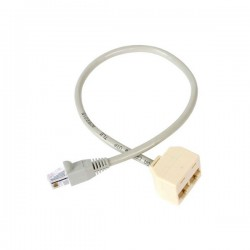 StarTech.com 2-to-1 RJ45 Splitter Cable Adapter - F/M