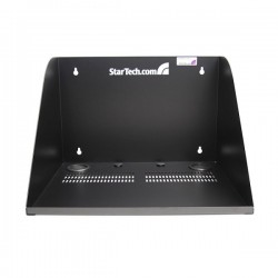 StarTech.com 17in Deep Vented Server Room Equipment Wall Mount Shelf