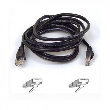 Belkin RJ45 Cat5e Assembled UTP Patch Cable 1m black