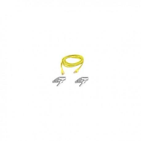 Belkin Patch cable - RJ45(M) - RJ45(M) - 1m ( CAT 5e ) - yellow