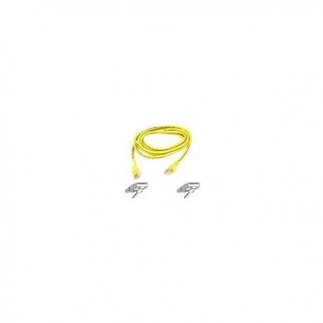 Belkin Patch cable - RJ45(M) - RJ45(M) - 3m ( CAT 5e ) - Yellow