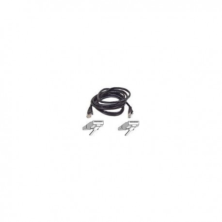 Belkin Patch cable - RJ45(M) - RJ45(M) - 10m ( CAT 5e ) - black