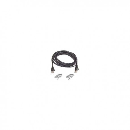 Belkin Patch cable - RJ45(M) - RJ45(M) - 15m - UTP ( CAT 5e ) - black