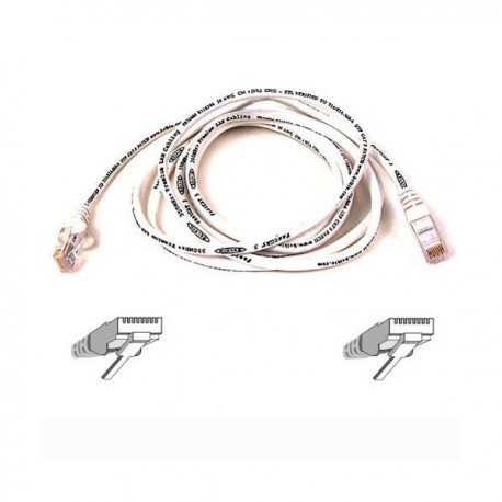 Belkin RJ45 CAT-6 Snagless UTP Patch Cable 10m white