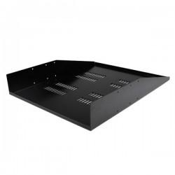 StarTech.com 2U Vented Rack Mount Cantilever 2 Post Shelf - Mid/Center Mount Server Rack Cabinet Shelf - 150lbs / 68kg