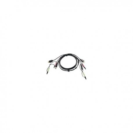 Aten 2L-7D02UH keyboard video mouse (KVM) cable