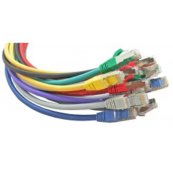 Cat6a (S/FTP) RJ45 Patch Cables