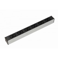 IEC 320 C13 Socket Rack PDU - With UK Plug