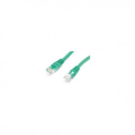 StarTech.com 15 ft Green Molded Cat6 Patch Cable - ETL Verified