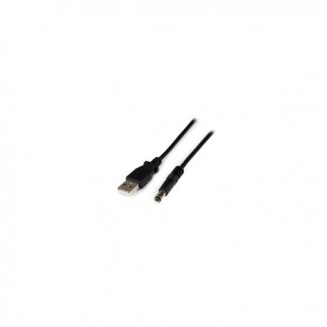 StarTech.com 1m USB A - 5.5mm DC