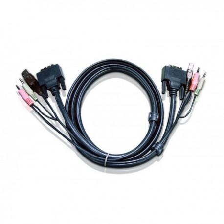 Aten 2L-7D03UI keyboard video mouse (KVM) cable