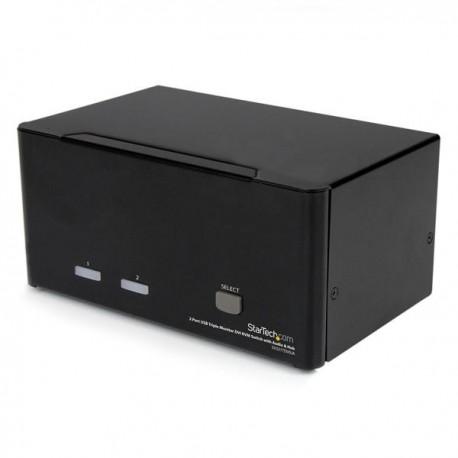 StarTech.com SV231TDVIUA keyboard video mouse (KVM) switch box