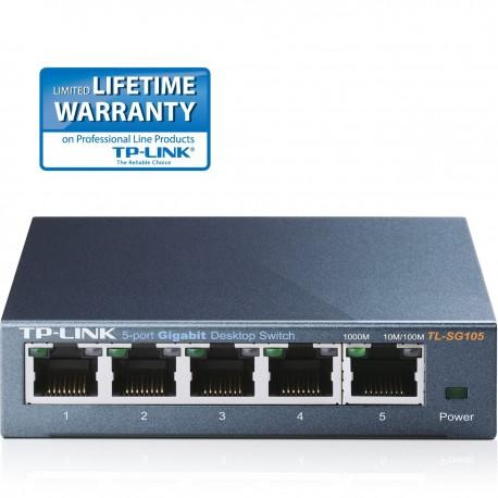 TP-Link TL-SG105 5-Port Gigabit Desktop Switch