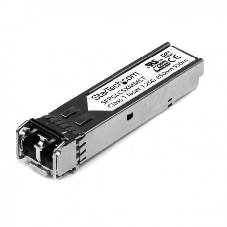 StarTech SFPGLCSXMMST Multimode Gigabit Fiber SFP Transceiver Module - LC