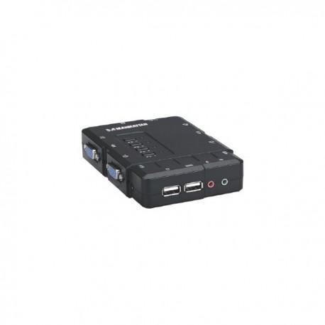 Manhattan 151269 keyboard video mouse (KVM) switch box