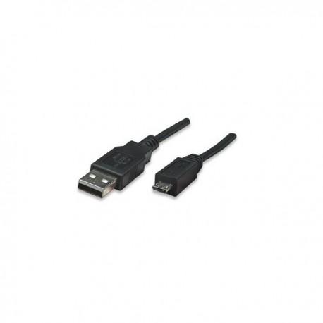 Manhattan 1.8m USB 2.0 A/Micro-B