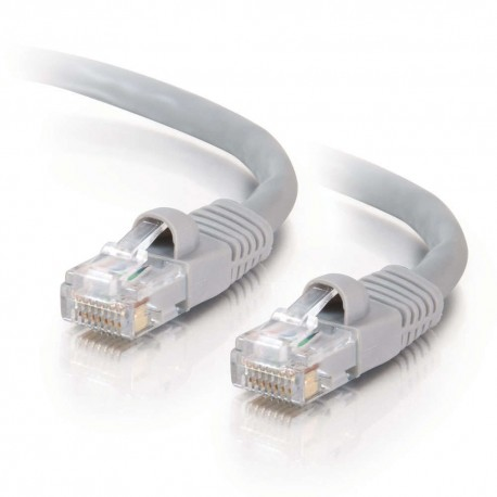 30m Cat5E 350 MHz Snagless RJ45 Patch Leads - Grey