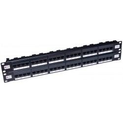 48 Port Cat5e UTP CCS Elite Patch Panel