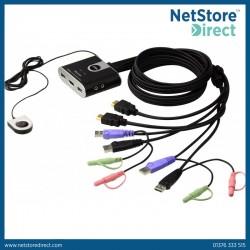 Aten CS692 2-Port USB HD Audio/Video KVM Switch