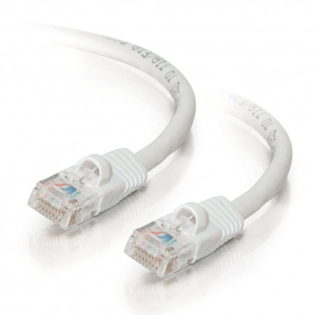 1m Cat5E 350 MHz Snagless RJ45 Patch Leads - White