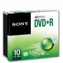 Sony DVD+R 16x, 10