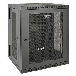 Tripp Lite SmartRack 15U Wall-Mount Standard-Depth Rack Enclosure Cabinet